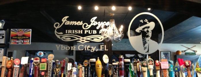 James Joyce Irish Pub is one of Fav Cities!.