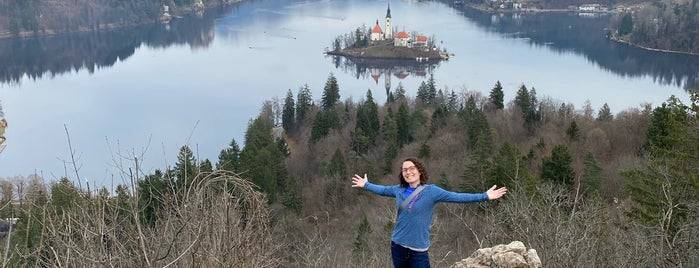 Ojstrica is one of Bled.