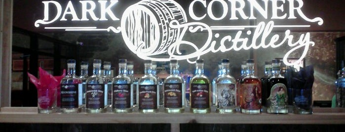 Dark Corner Distillery is one of Where in the World (To Drink).