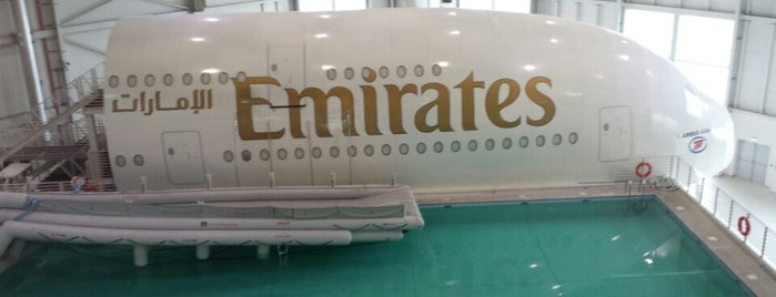 Emirates Aviation College is one of Gust's World Spots.