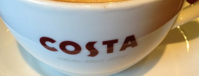 Costa Coffee is one of Lugares guardados de Александр.