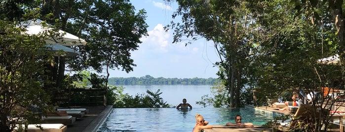 Anavilhanas Lodge is one of Lugares favoritos de Chris.