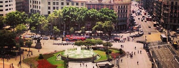 Plaça de Catalunya is one of BCN.
