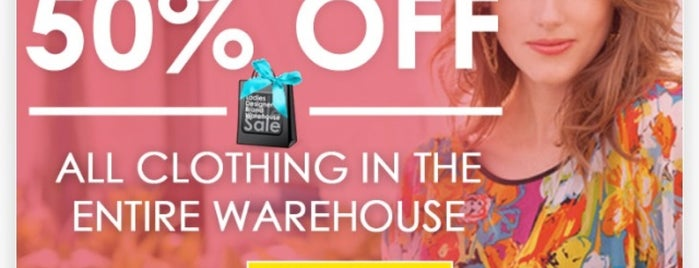 Ladies Designer Brand Warehouse Sale is one of Locais curtidos por Tammy.