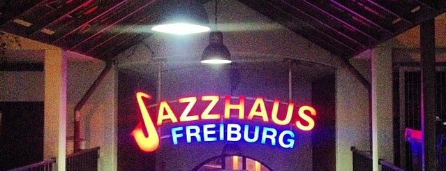 Jazzhaus is one of Freiburg.