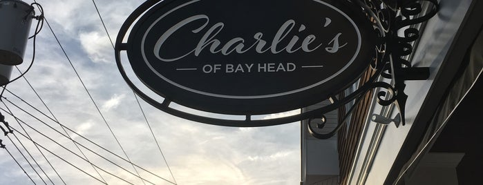 Charlie's of Bay Head is one of Lieux sauvegardés par Lizzie.