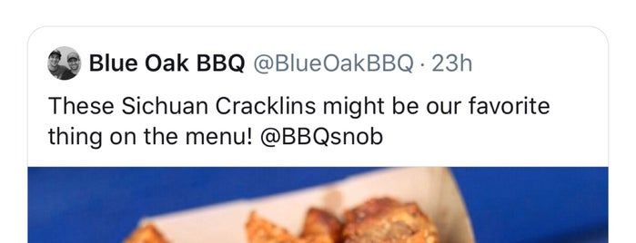 Blue Oak BBQ is one of NEW ORLEANS_ME List.