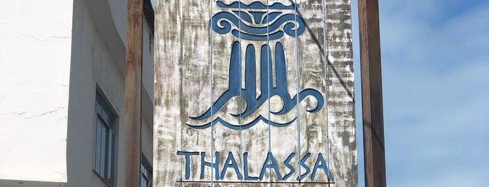Thalassa Culinária Grega Mediterrânea is one of Lugares favoritos de Rafael.