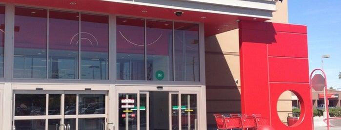 Target is one of Restaurants.