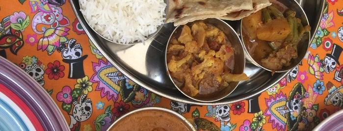 mini taj Cocina India is one of สถานที่ที่บันทึกไว้ของ Vania.