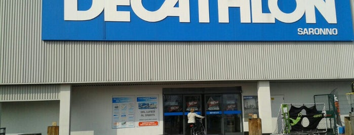 Decathlon is one of Lieux qui ont plu à Mik.