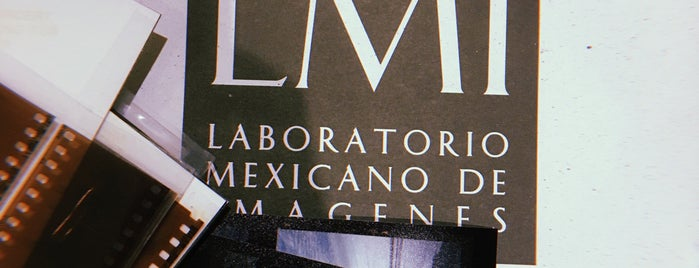 Laboratorio Mexicano de Imagen (LMI) is one of Chilango25'un Beğendiği Mekanlar.