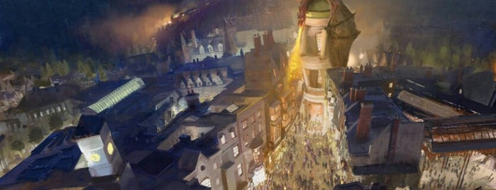 The Wizarding World Of Harry Potter - Hogsmeade is one of สถานที่ที่ Orlando Informer ถูกใจ.