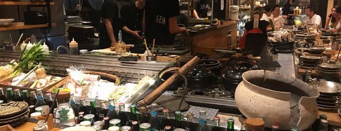 炉端 百式 is one of 大人が行きたいうまい店2 福岡.