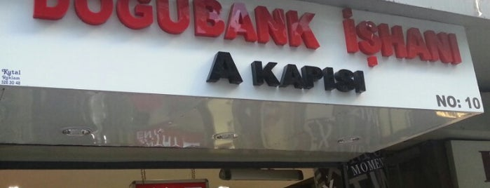 Doğubank İşhanı is one of Locais curtidos por Samet.