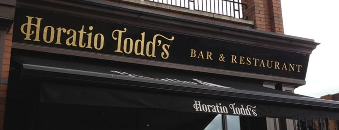 Horatio Todd's is one of Locais curtidos por Benjamin.