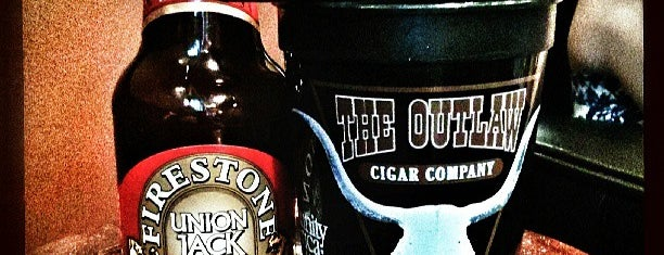 The Outlaw Cigar Company is one of Firestone Walker Accounts.
