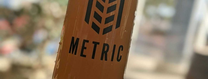 Metric Brewing is one of Tappin the Rockies...
