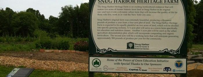 Snug Harbor Heritage Farm is one of USA 3.