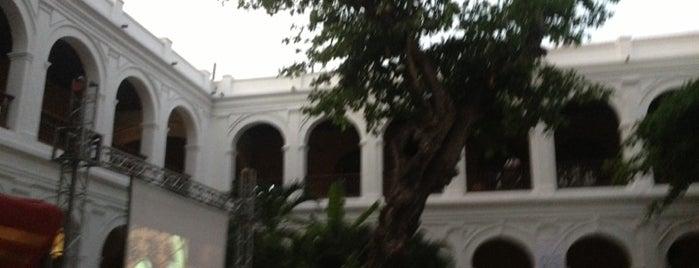 Claustro de Santo Domingo - Centro de Formación de la Cooperación Española is one of Frank : понравившиеся места.