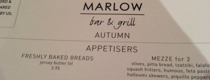 The Marlow Bar & Grill is one of Locais salvos de Gail.