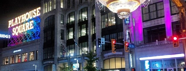 PlayhouseSquare is one of Cleveland.