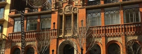 Fundació Antoni Tàpies is one of Barcelona en 5 días.