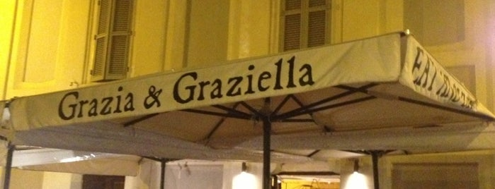 Grazia & Graziella is one of Posti salvati di Brigitte.