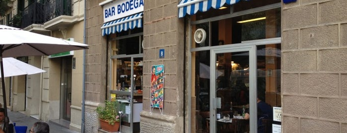 Bodega Can Ros is one of tapes bcn.