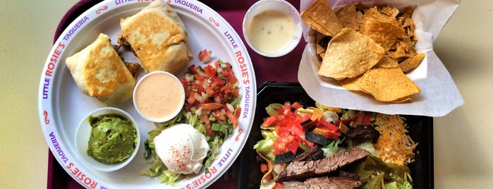 Little Rosie's Taqueria is one of Best of Huntsville.