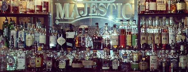 The Majestic Restaurant is one of KC ideas.