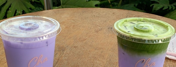 Cha Cha Matcha is one of Our LA neighborhood.