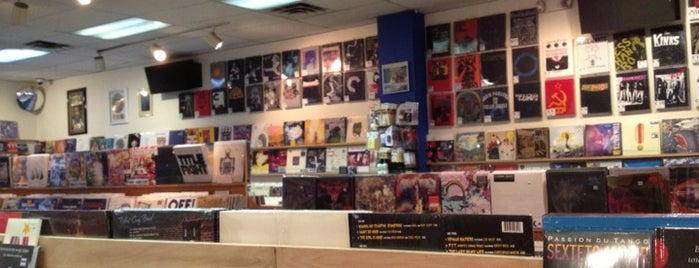 Waterloo Records is one of Austin, TX.