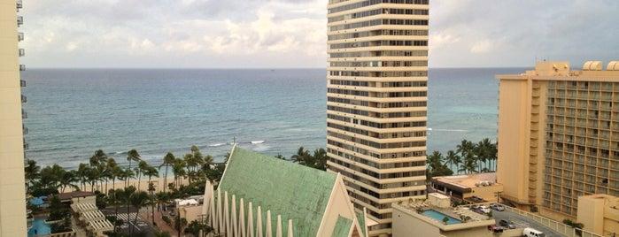 Waikiki Beach Marriott Resort & Spa is one of Hawaii.
