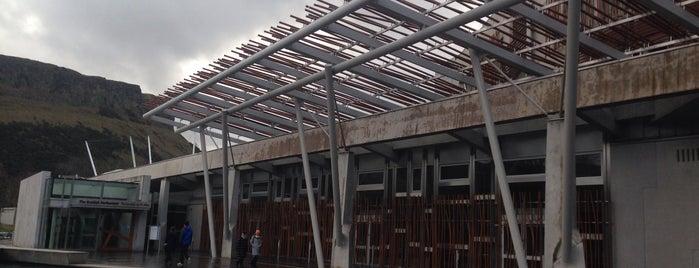 Scottish Parliament is one of 建築マップ ヨーロッパ.
