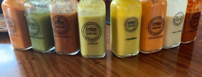 Los Gyros is one of Tacos arabes/kebabs/gyros/shawarmas.