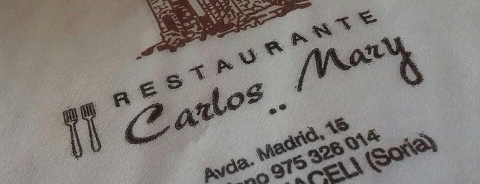 Restaurante Carlos Mary is one of Tempat yang Disukai Jonatan.