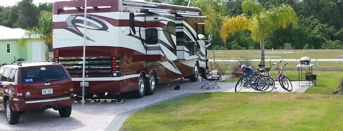 Bay Lake Motorcoach Resort is one of Florida Locations.