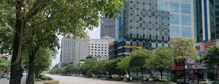 Quảng trường đi bộ Nguyễn Huệ (Nguyen Hue Pedestrian Plaza) is one of Vietnam.