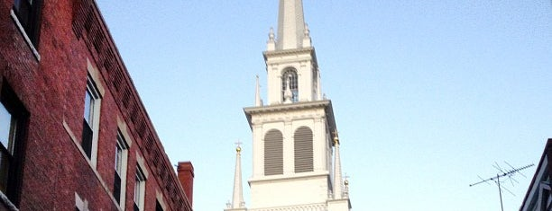 The Old North Church is one of bean town baby.