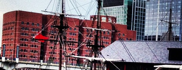 Boston Tea Party Ships and Museum is one of Nearby Neighborhoods: Fort Point.