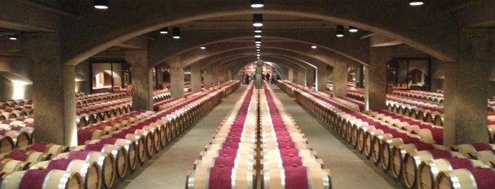 Robert Mondavi Winery is one of A Weekend Away in Napa.