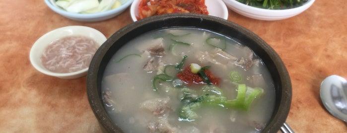 마산식당 is one of Orte, die Jae Eun gefallen.