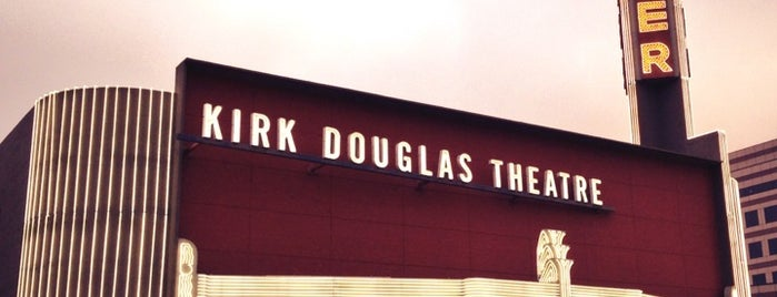 Kirk Douglas Theatre is one of LA.