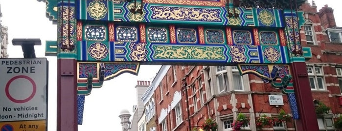 Chinatown is one of Trips / London.