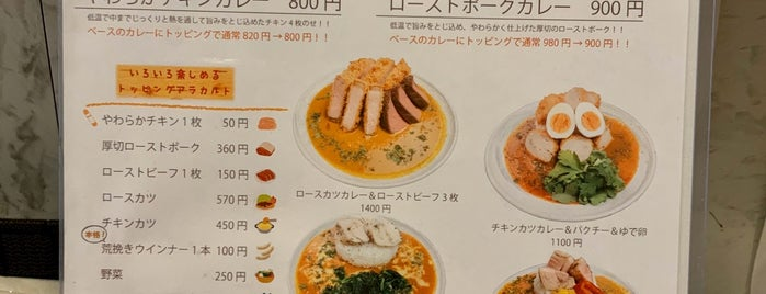 Curry Peak is one of TOKYO-TOYO CURRY-5.
