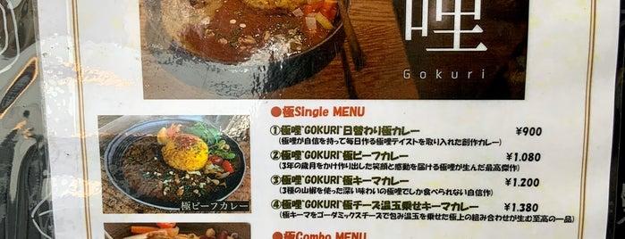 極哩 ~GOKURI~ is one of TOKYO-TOYO CURRY-5.