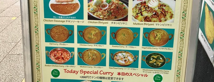 alladin is one of TOKYO-TOYO-CURRY 4.