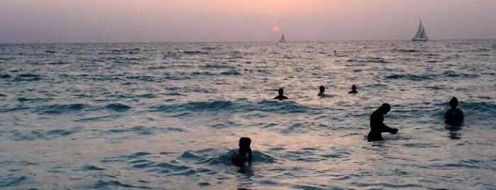 Kite Surf Beach is one of Locais curtidos por Abdullah.
