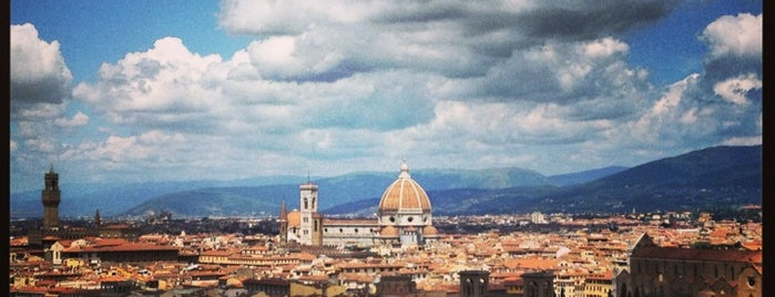 Piazzale Michelangelo is one of Florence See.